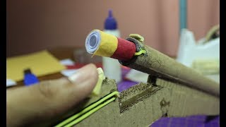 How To Make Shotgun That Shell Remove (Cardboard Gun)