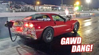 Ruby Goes Drag Racing w/Her NEW Torque Converter! (Builds ALL THE BOOST)