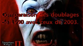 [ Ça - IT ] Comparaison des doublages français (1990 - 2003).