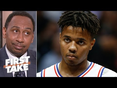 Markelle Fultz is on the verge of being the biggest NBA draft bust – Stephen A. First Take