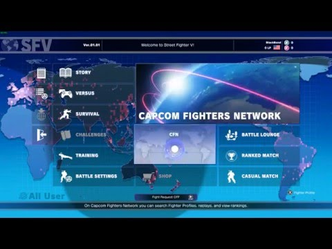 Street Fighter V [PC] Launch Day Server & Native Controller Support Issues