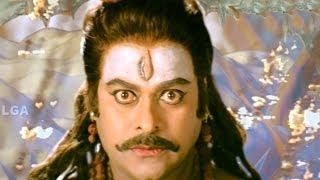 Jagadguru Adi Shankara Scenes - Lord Shiva Give Fire To Adi Shankara - Chiranjeevi