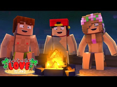 PLAYING TRUTH OR DARE & SPIN THE BOTTLE CAMPING ! Minecraft Love Island | LittleKelly