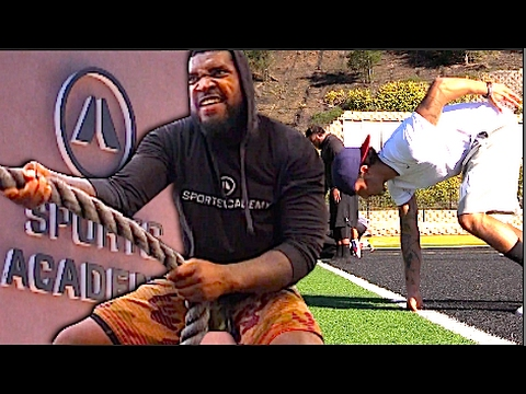 Xxx Mp4 Ep 1 Sports Academy Pre NFL Combine 2017 Day 1 Roadtothedraft 3gp Sex