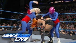 Becky Lynch vs. La Luchadora: SmackDown LIVE, Jan. 3, 2017