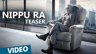 Kabali Teaser | Nippu Ra Song Teaser | Telugu | Rajinikanth | Pa Ranjith | Santhosh Narayanan