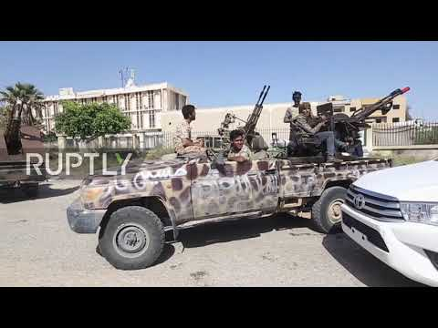 Xxx Mp4 Libya GNA Forces In Azizyah Amid Battles With LNA 3gp Sex