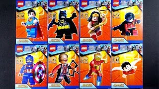 LEGO Marvel Avengers DC Justice League Super Heroes  Minifigures (bootleg / knock-off) LEBQ 1836