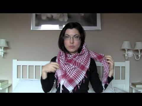 Cómo ponerse bufandas pañuelos fulares