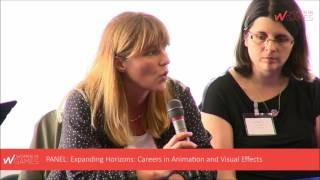 European Women in Games Conference 2016 - Panel: Careers in animation and visual effects / VFX