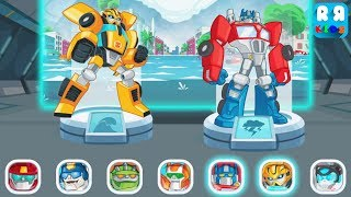 Transformers Rescue Bots: Disaster Dash - Rescue The City From Tsunami Wave