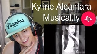 Kyline Alcantara Musical.ly Compilation REACTION
