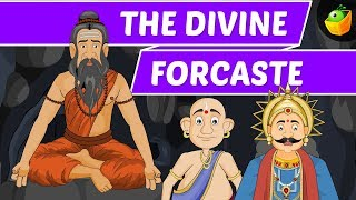 The Divine Forcaste | Tenali Raman In English | Animated Stories For Kids