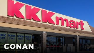 KKKmart & More Companies Sticking By Trump  - CONAN on TBS