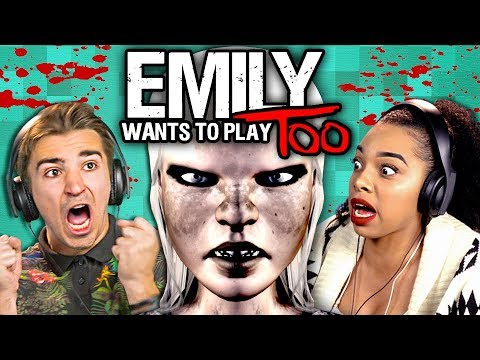 DEMON CHILD HORROR Emily Wants To Play TOO React Gaming