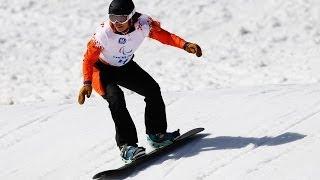 Bibian Mentel-Spee (3rd run) | Women's para snowboard cross | Alpine Skiing | Sochi 2014 Paralympics