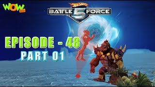 Motu Patlu presents Hot Wheels Battle Force 5 -Grimian's Secret - S2 E48.P1 - in Hindi