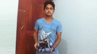 Bangladeshi youth Scientist makes standard Robot বাংলাদেশী বিজ্ঞানী ( Asian TV)