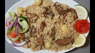 Beef Tehari।। গরুর মাংসের তেহারি।। বাংলাদেশী বীফ তেহারি।।How to make Beef Tehari..