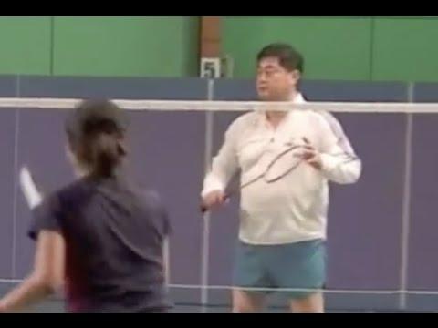 Badminton Basic Drills (2) - Cross Net Drop