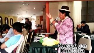 Discurso político de mujer indígena deja sorprendidos a ciudadanos cusqueños