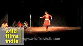 Kathank dancer from Jaipur Gharana - Harish Ganganj