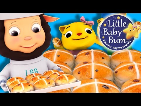 Xxx Mp4 Hot Cross Buns Nursery Rhymes By LittleBabyBum 3gp Sex