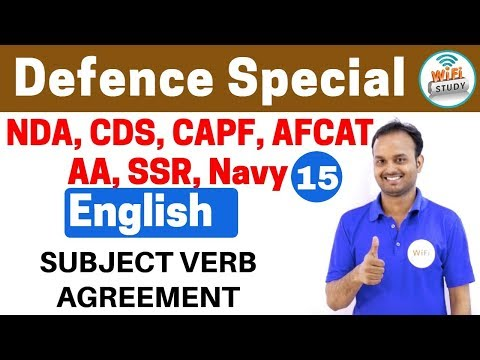 Xxx Mp4 11 00 PM Defence Special English By Sanjeev Sir Day 15 SUBJECT VERB AGREEMENT 3gp Sex
