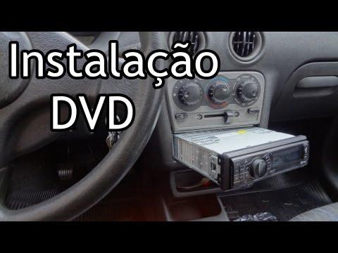 DVD Automotivo INSTALAÇÃO GM CELTA Installation DVD