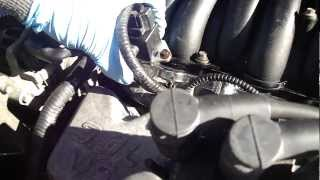 how to replace the fuel pressure sensor