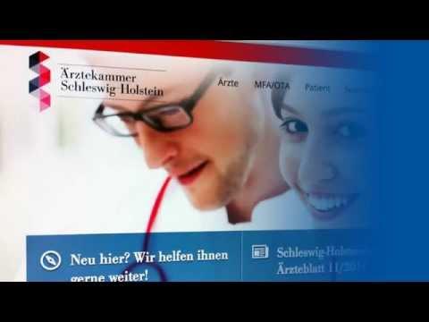 P+ Projekt: Ärztekammer Schleswig-Holstein AEKSH Informationsportal