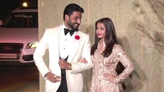HOT Aishwarya Rai & Abhishek Bachchan's CUTE Moments At Manish Malhotra's Birthday Party 2016