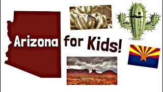 Arizona for Kids   US States Learning Video