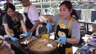 Colourful Thai Food On the Road. London Street Food