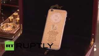 Russia: Caviar release gold iPhone 6S with Chechen leader Kadyrov's portrait
