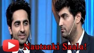 Ayushman Khurana And Kunal Roy Kapoor Funny Acts On Colors Nautanki [HD]