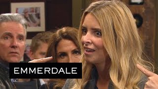 Emmerdale - Charity Exposes Her Night With Vanessa to Everyone!