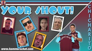 Your Shout #13 | Chicharito | Hernandez gets the fans singing