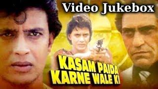 Kasam Paida Karne Wale (HD) -Songs Collection - Mithun Chakraborty - Bappi Lahiri - Best Hindi Songs