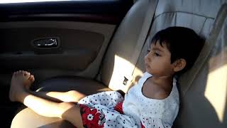 Baby Ruponti's 1st Uber Use in BD