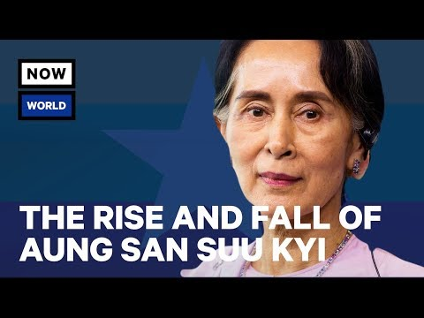 Xxx Mp4 The Rise And Fall Of Myanmar's Aung San Suu Kyi Explained NowThis World 3gp Sex