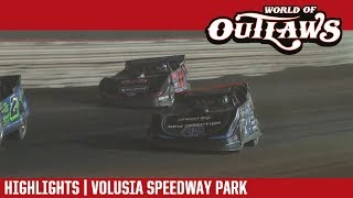 World of Outlaws Craftsman Late Models Volusia Speedway Park February 16th, 2018 | HIGHLIGHTS