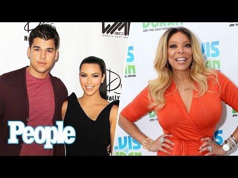 Kim Kardashian West Gets Real With Rob Kardashian Wendy Williams Tells All People NOW People