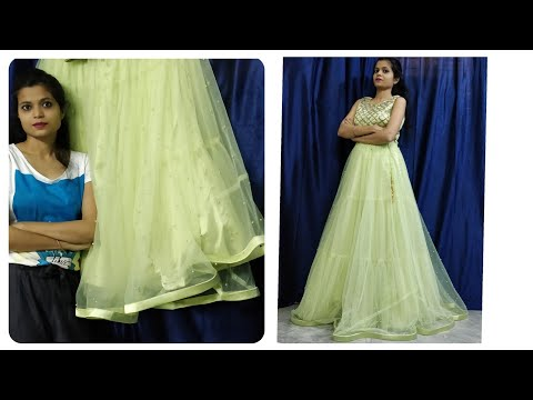Xxx Mp4 Parrot Green Lahnga With Beautiful Blouse Design Lahnga Idea Or U Can Also Buy Online 😍 3gp Sex