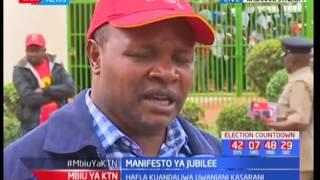 Manifesto ya Jubilee : Jubilee kuzindua maniesto yao leo
