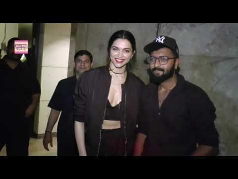 Xxx Mp4 XXX 3 Deepika Padukone Looks Hot Trailer Screening In Mumbai 3gp Sex