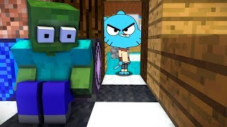 Minecraft Monster School: GUMBALL HIDE AND SEEK CHALLENGE!!(Ps3/Xbox360/PS4/XboxOne/PE/MCPE)