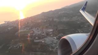 Take off Zakytnhos Boeing 737-800 Travel Service OK-TVM