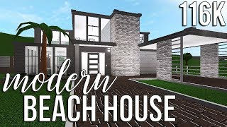 ROBLOX | Welcome to Bloxburg: Modern Beach House 116k