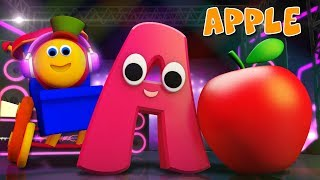 Phonics Letter A | Alphabets Rhyme | ABC Videos For Kids | Toddlers Songs | Learning street with Bob